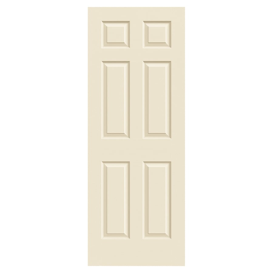 JELD-WEN Colonist Cream-N-Sugar Molded Composite Slab Interior Door (Common: 30-in x 80-in; Actual: 30-in x 80-in)