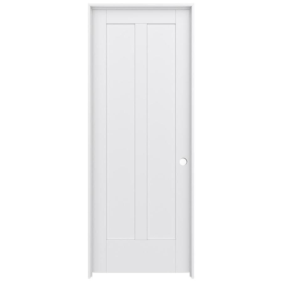 Shop Jeld Wen Moda Pine Single Prehung Interior Door Common 30 In X 80 In Actual