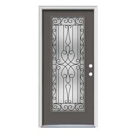Steel Full Lite Entry Doors At Lowes Com