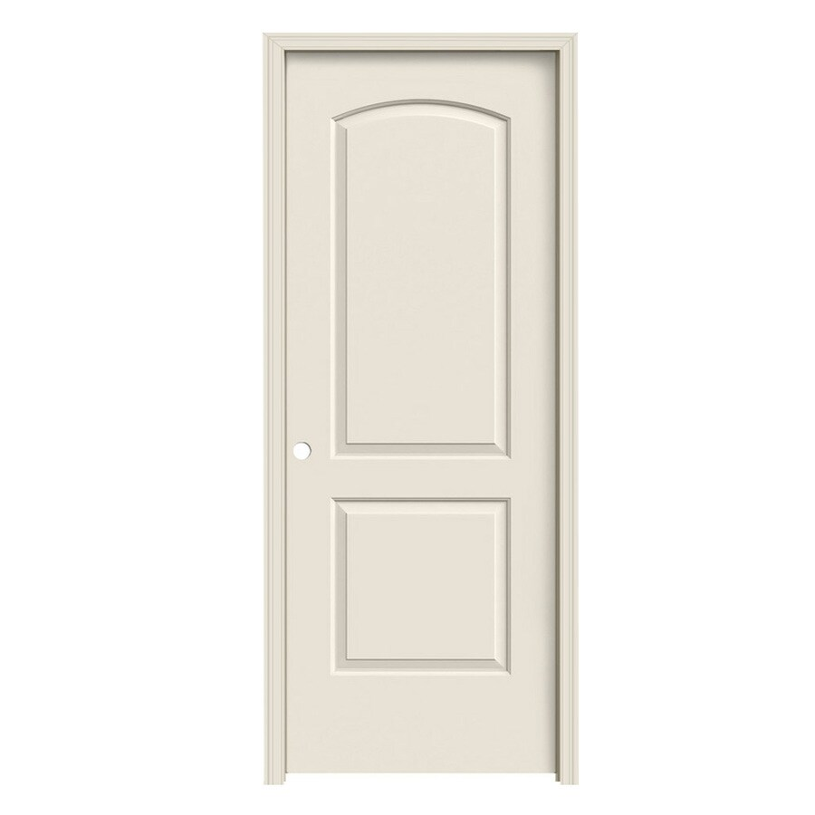 ReliaBilt 2-panel Round Top Single Prehung Interior Door (Common: 30-in x 80-in; Actual: 31.5-in x 81.5-in)