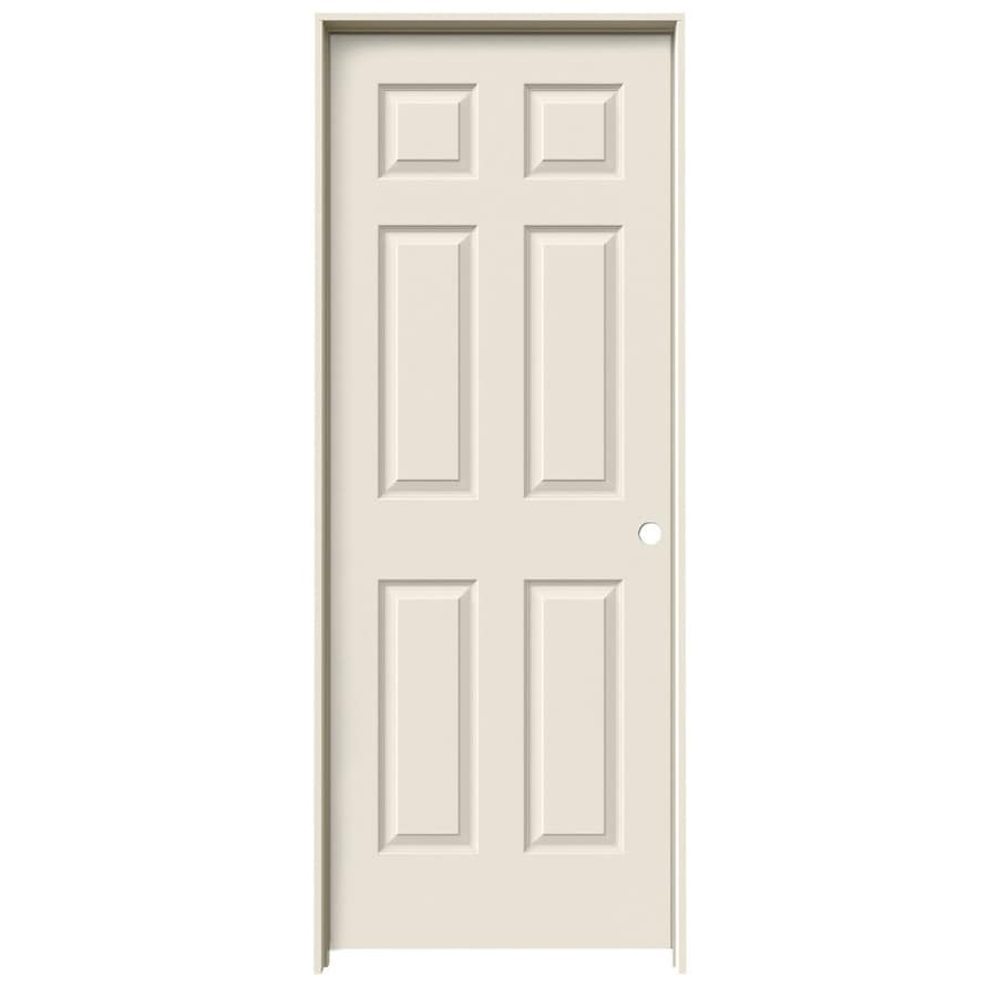 ReliaBilt Colonist Primed Hollow Core Molded Composite Single Prehung Interior Door (Common: 32-in x 80-in; Actual: 33.5000-in x 81.5000-in)
