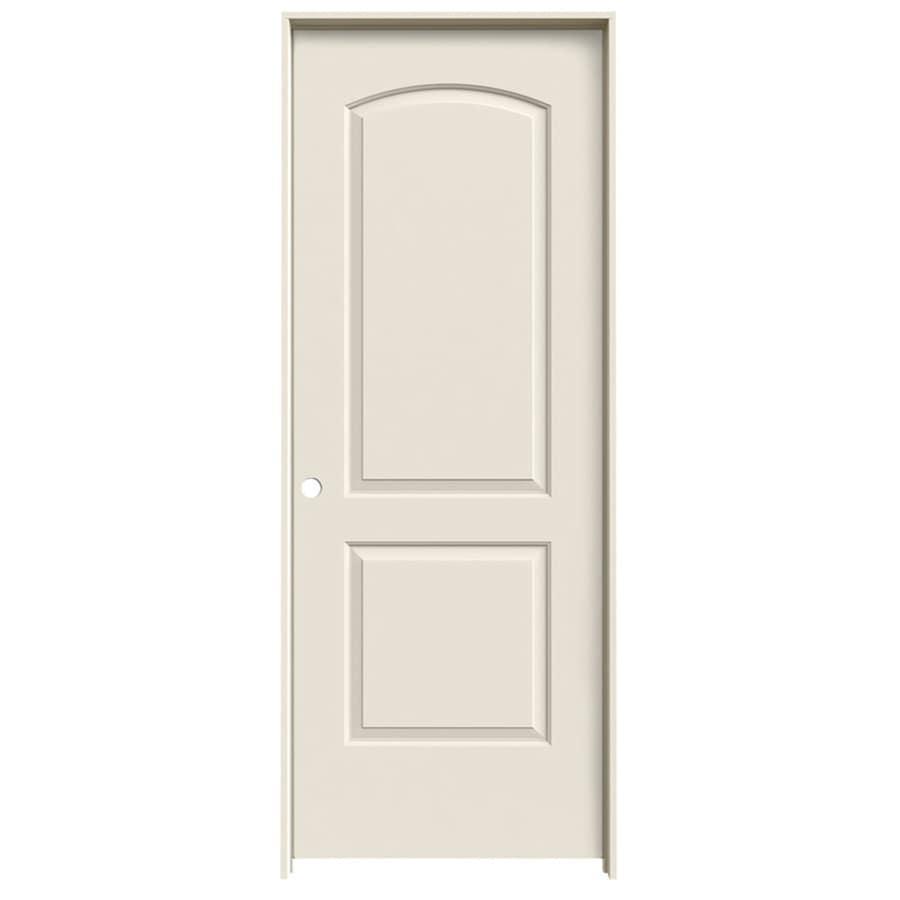 JELD-WEN 2-panel Round Top Single Prehung Interior Door (Common: 30-in x 80-in; Actual: 31.5-in x 81.5-in)