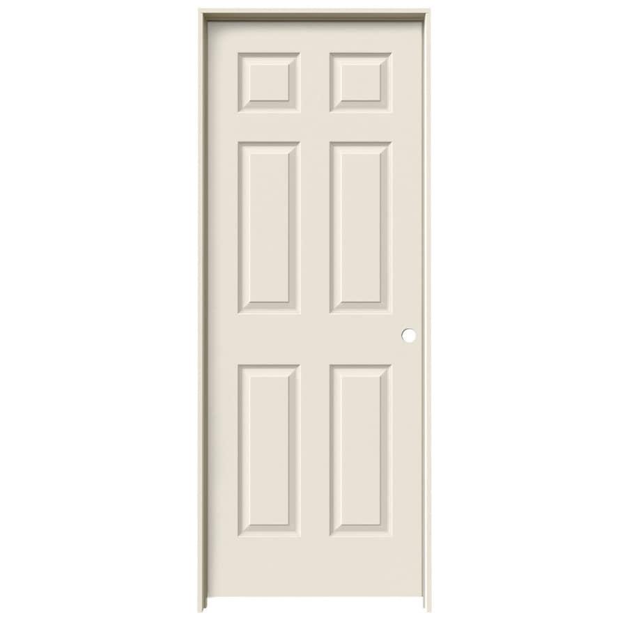 ReliaBilt Colonist Single Prehung Interior Door (Common: 18-in x 80-in; Actual: 19.5-in x 81.5-in)