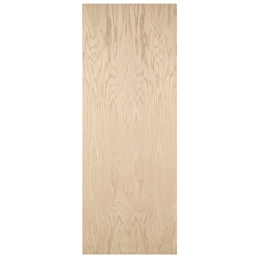 JELD-WEN Flush Hardwood Bi-fold Closet Interior Door (Common: 36-in x 80-in; Actual: 35.5-in x 79-in)