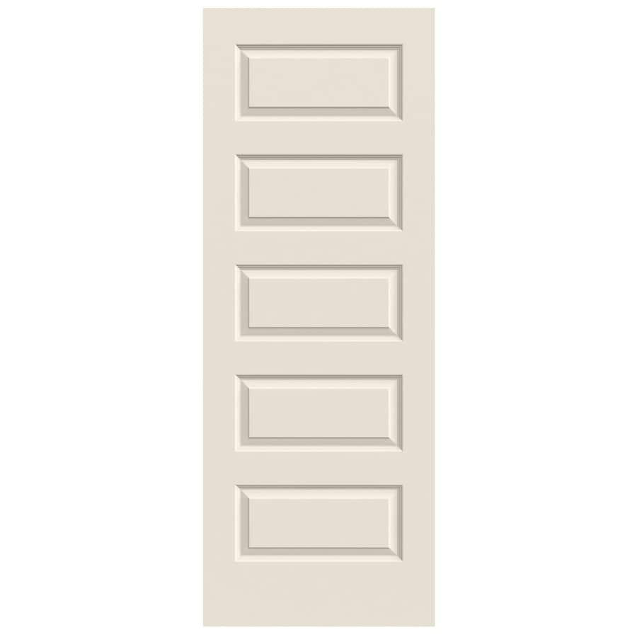 JELD-WEN Rockport Primed Hollow Core Molded Composite Slab Interior Door (Common: 28-in x 80-in; Actual: 28-in x 80-in)