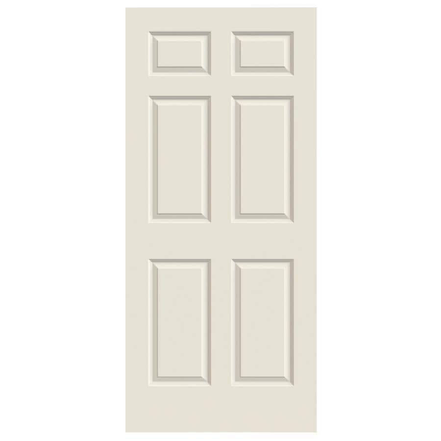 ReliaBilt Hollow Core 6-Panel Slab Interior Door (Common: 28-in x 80-in; Actual: 28-in x 80-in)