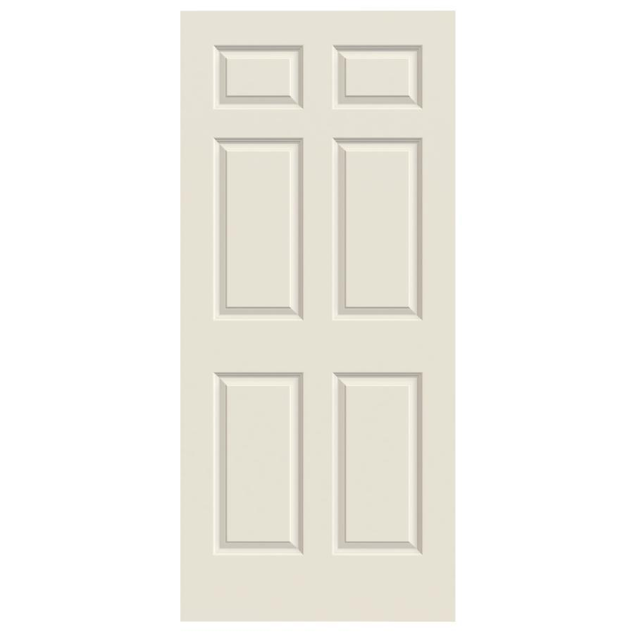ReliaBilt Colonist Primed Hollow Core Molded Composite Slab Interior Door (Common: 30-in x 80-in; Actual: 30-in x 80-in)