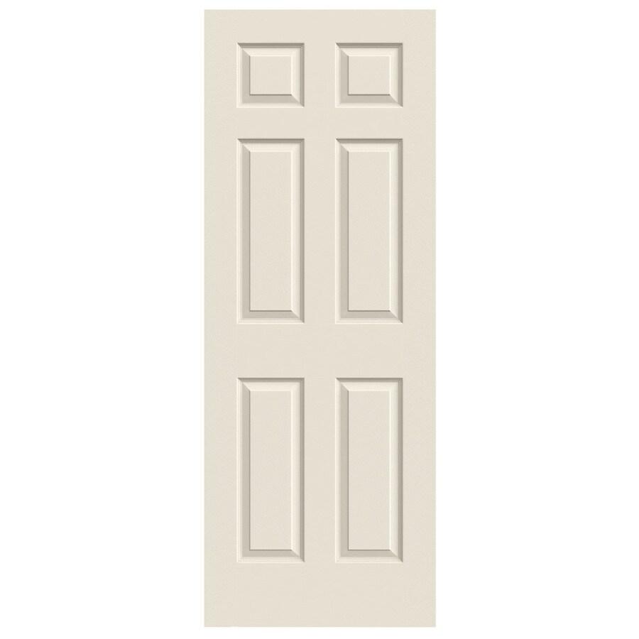 JELD WEN Colonist Primed Solid Core Molded Composite Slab Interior Door  (Common: 30