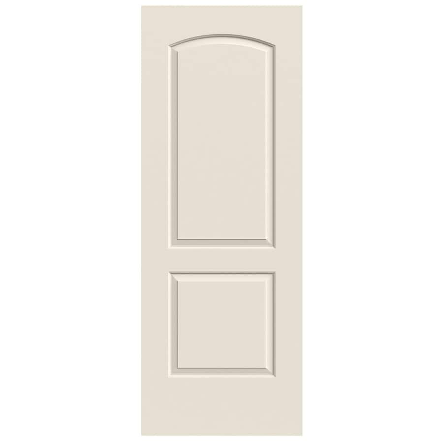 JELD-WEN Continental Primed Solid Core Molded Composite Slab Interior Door (Common: 30-in x 80-in; Actual: 30-in x 80-in)