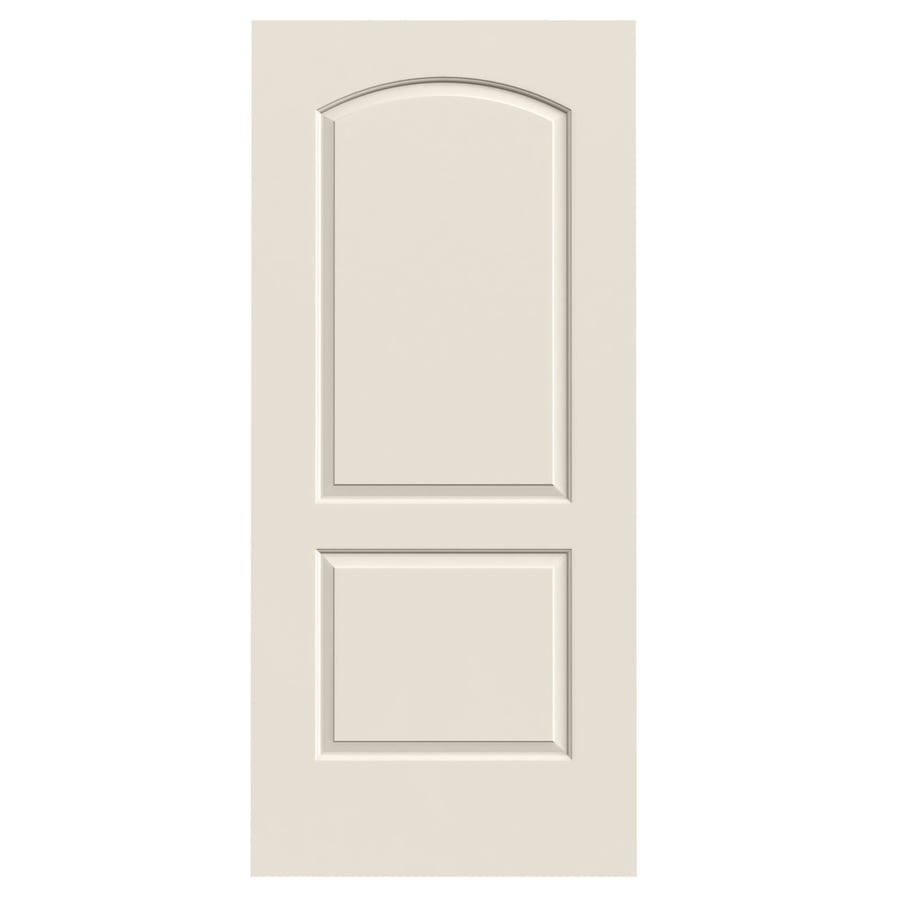 JELD-WEN Continental Primed Solid Core Molded Composite Slab Interior Door (Common: 36-in x 80-in; Actual: 36-in x 80-in)