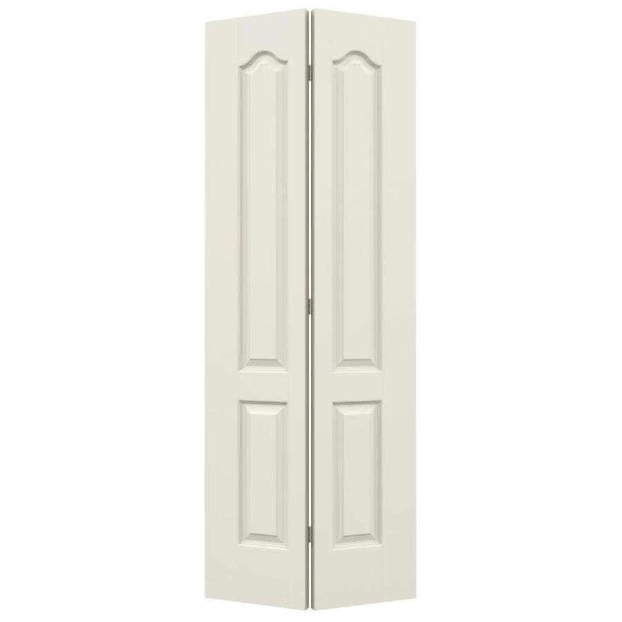 ReliaBilt Primed Hollow Core Molded Composite Bi-Fold Closet Interior Door with Hardware (Common: 30-in x 80-in; Actual: 29.5-in x 79-in)