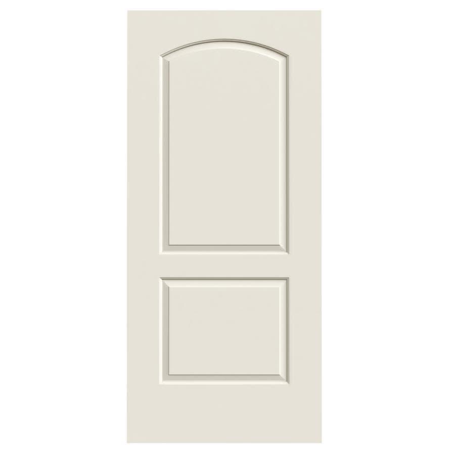 ReliaBilt Hollow Core 2-Panel Round Top Slab Interior Door (Common: 36-in x 80-in; Actual: 36-in x 80-in)