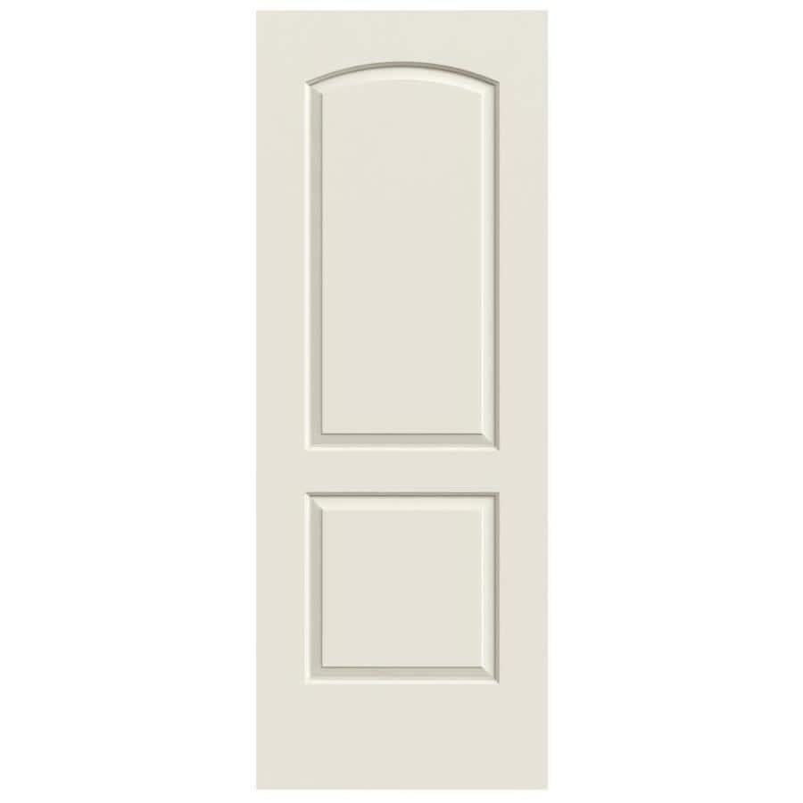 ReliaBilt Continental Primed 2-Panel Round Top Hollow Core Molded Composite Slab Door (Common  sc 1 st  Loweu0027s & Shop ReliaBilt Continental Primed 2-Panel Round Top Hollow Core ...