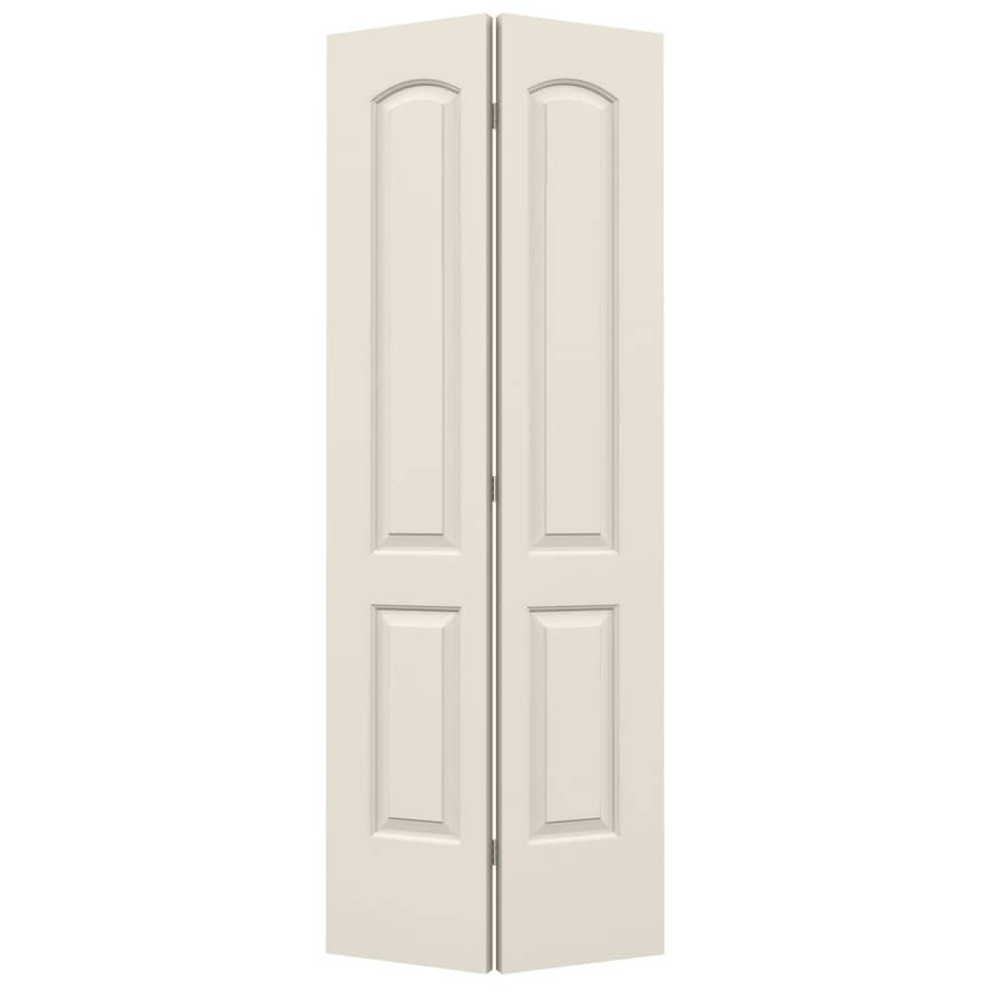 JELD-WEN Continental Bi-Fold Closet Interior Door (Common: 32-in x 80-in; Actual: 31.5-in x 79-in)