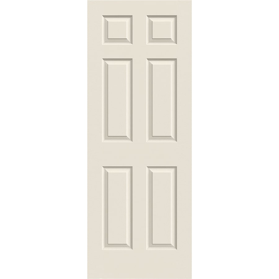 ReliaBilt Hollow Core 6-Panel Slab Interior Door (Common: 24-in x 80-in; Actual: 24-in x 80-in)