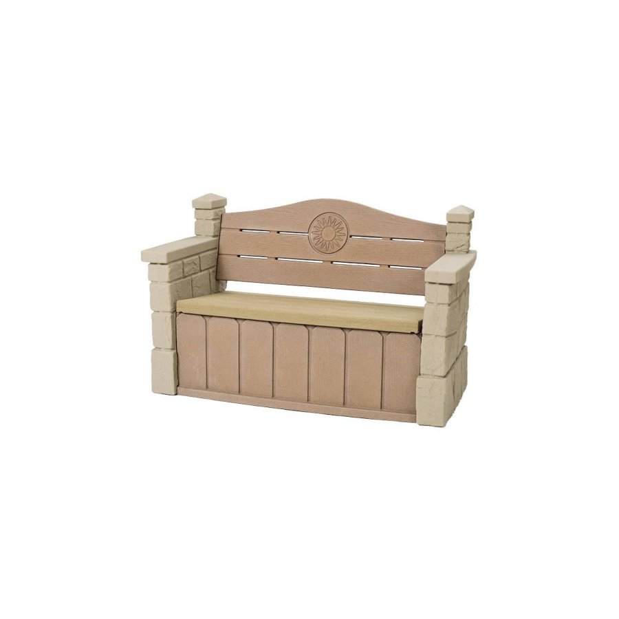 Shop Step2 Outdoor Storage Bench At Lowes Com