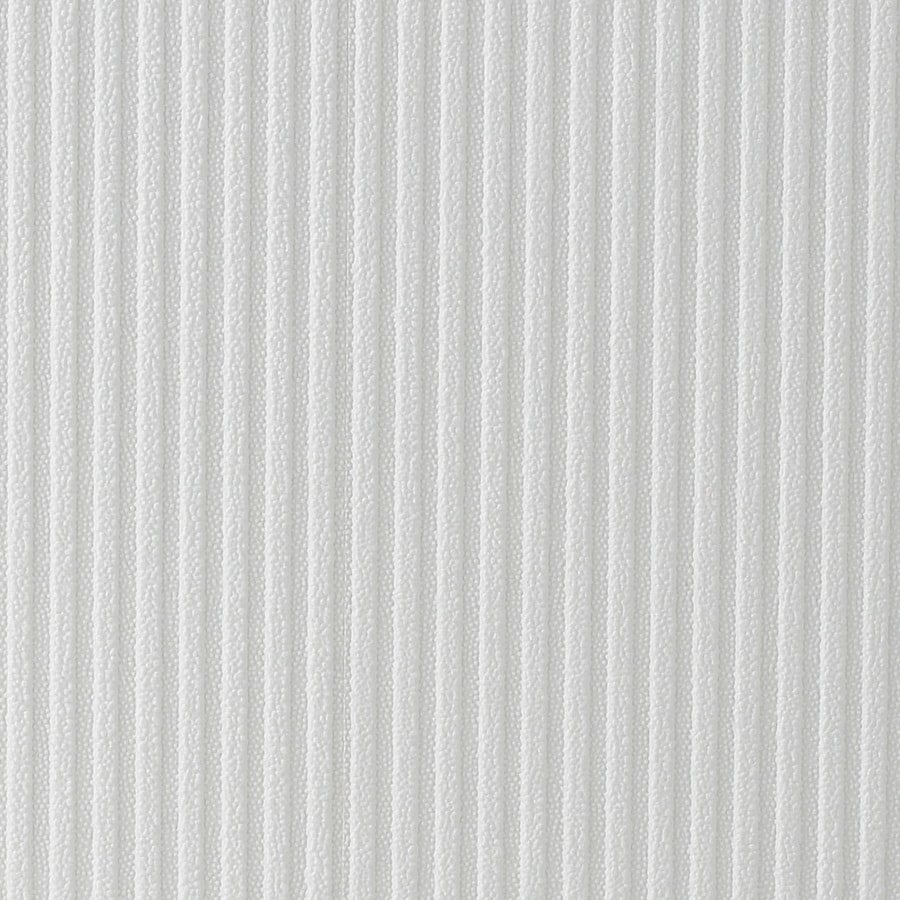 Allen + Roth Essentials White Paper Paintable Textured Stripes Wallpaper