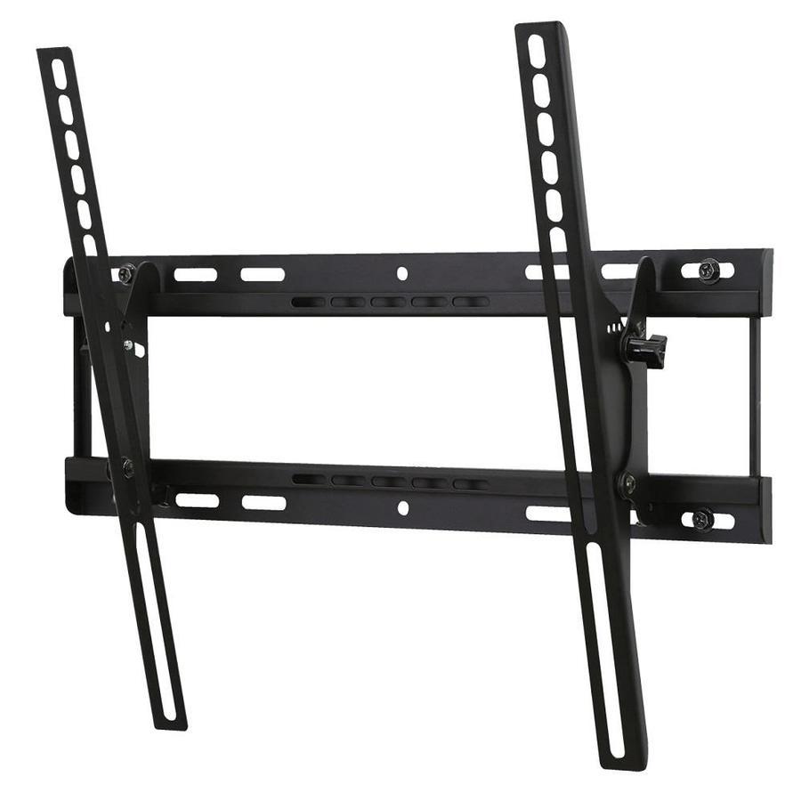Shop peerless av 32 46 in metal wall tv mount at for Tv wall mount tilt down