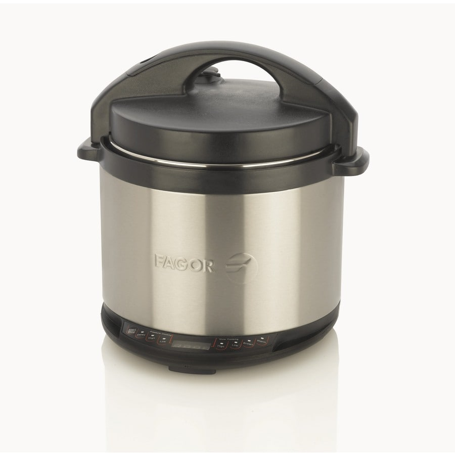 Fagor 4-Quart Stainless Steel Round 1-Vessel Slow Cooker