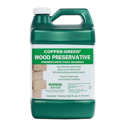 COPPER-GREEN Oil-based Wood Conditioner (Actual Net Contents