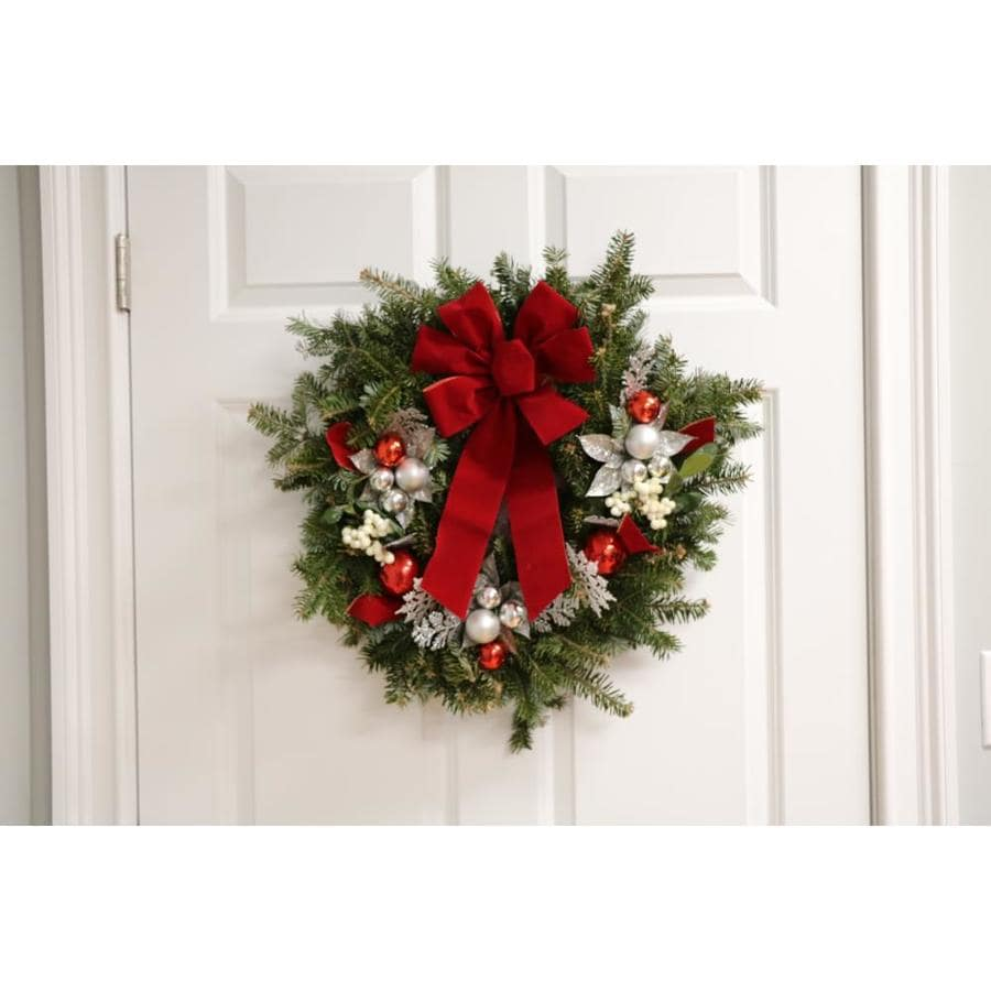 22-in Fresh Balsam Fir Christmas Wreath