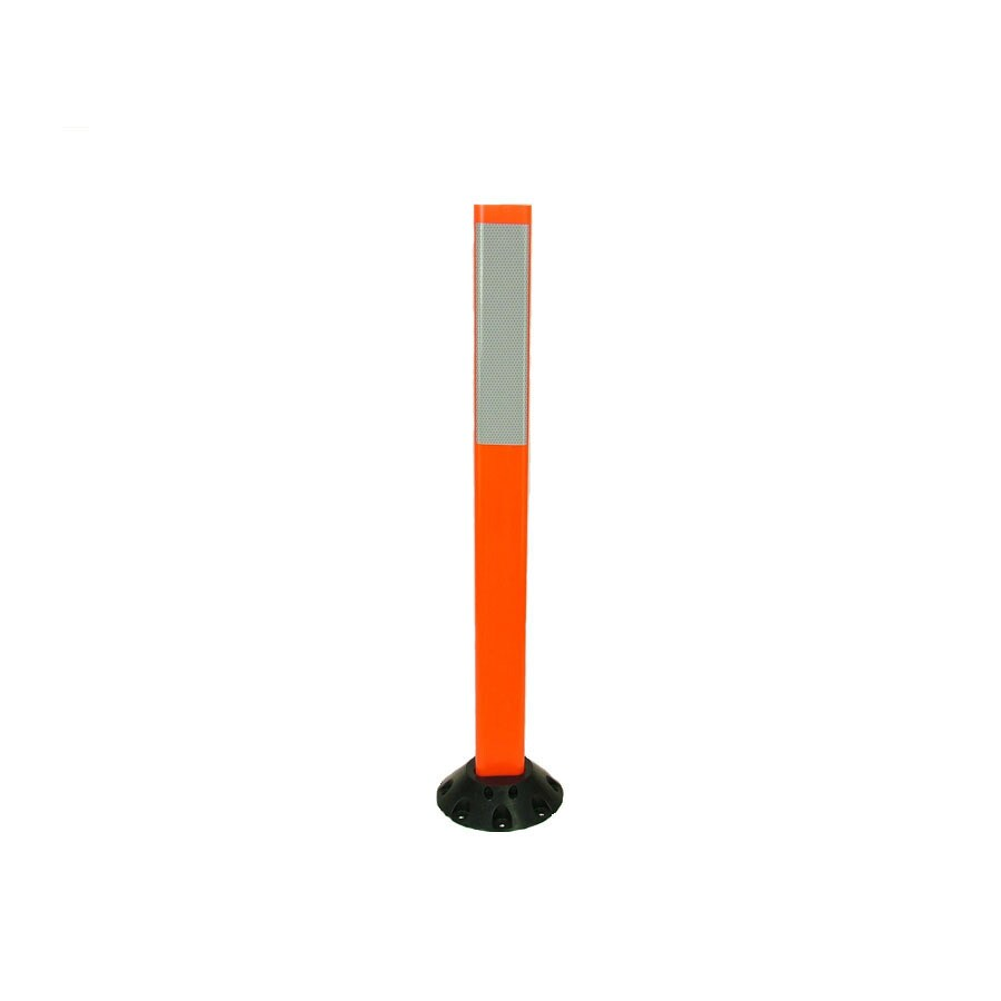 Three D Traffic Works 36-in Post Workzone Orange Post and Base