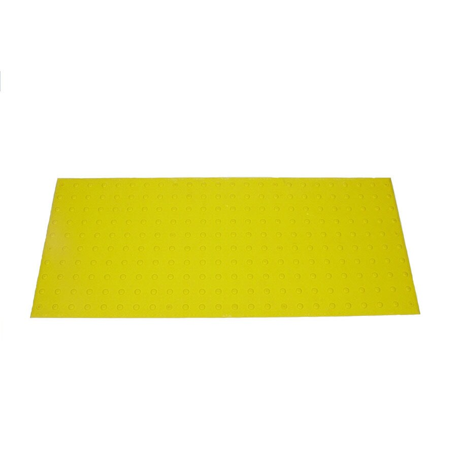 Three D Traffic Works 2-ft x 5-ft Yellow Detectable Warning Tile