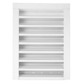 CMI 12-in x 12-in White Rectangle Steel Gable Vent  sc 1 st  Lowe\u0027s & Shop Gable Vents at Lowes.com