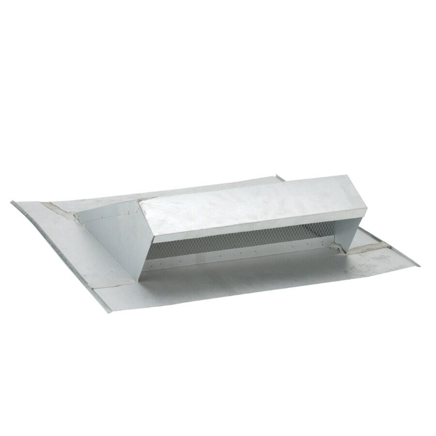 CMI Silver Galvanized Steel Square Roof Louver