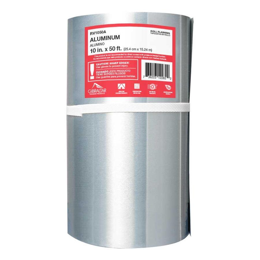 Construction Metals Inc. 6-in x 6-ft Aluminum Roll Flashing