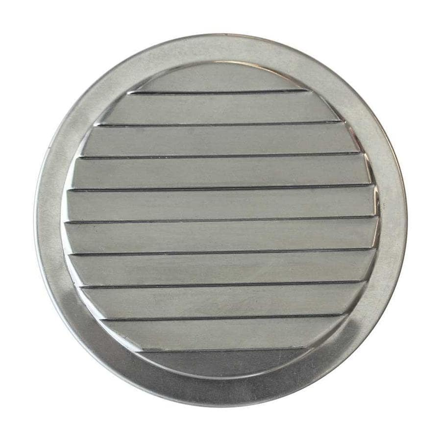 Vent bathroom fan to soffit - Cmi 2 375 In L Silver Aluminum Soffit Vent