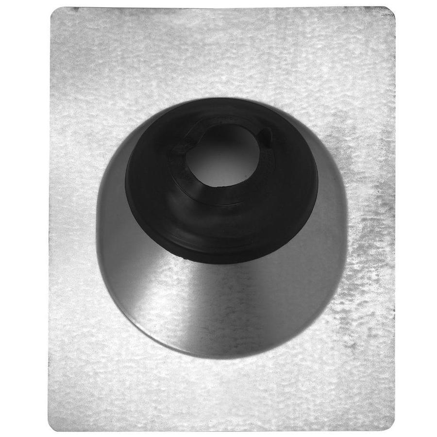 CMI 4-in x 11-in Galvanized Steel Vent and Pipe Flashing