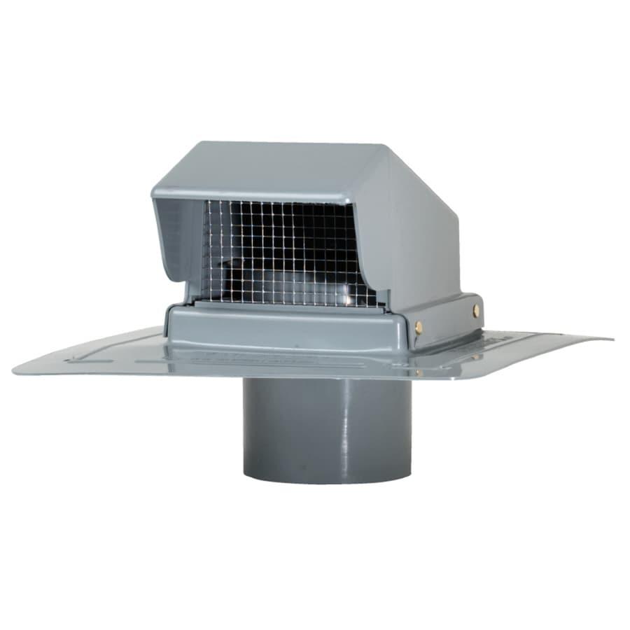 Cmi Gray Plastic Square Roof Louver At Lowes Com