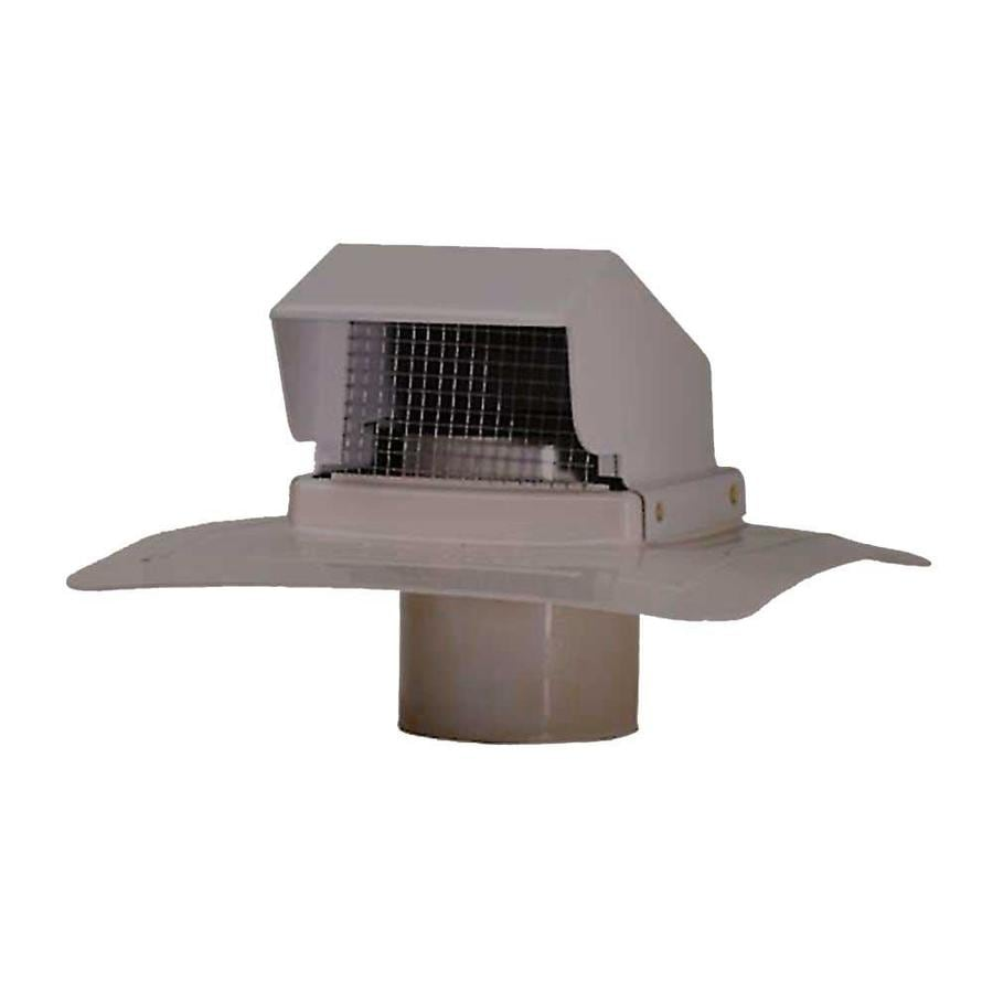 Charming CMI Gray Plastic Square Roof Louver