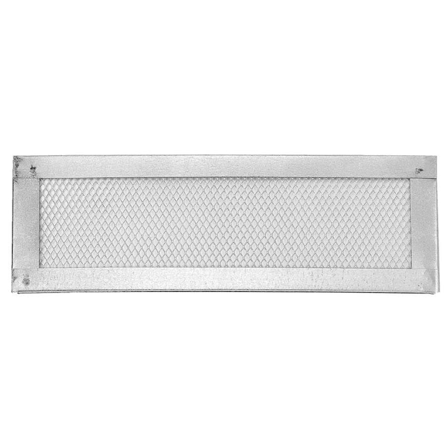 CMI 16-in L Silver Galvanized Steel Soffit Vent