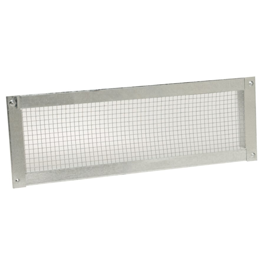 CMI 14-in L Silver Galvanized Steel Soffit Vent