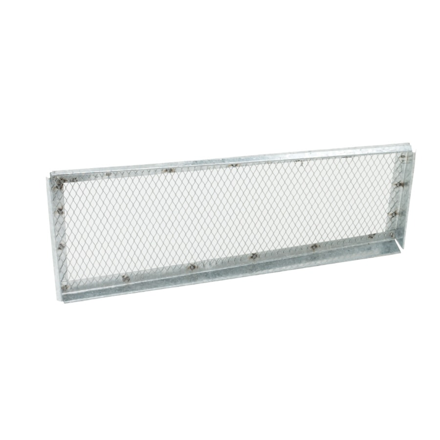 CMI 13.5-in L Silver Galvanized Steel Soffit Vent