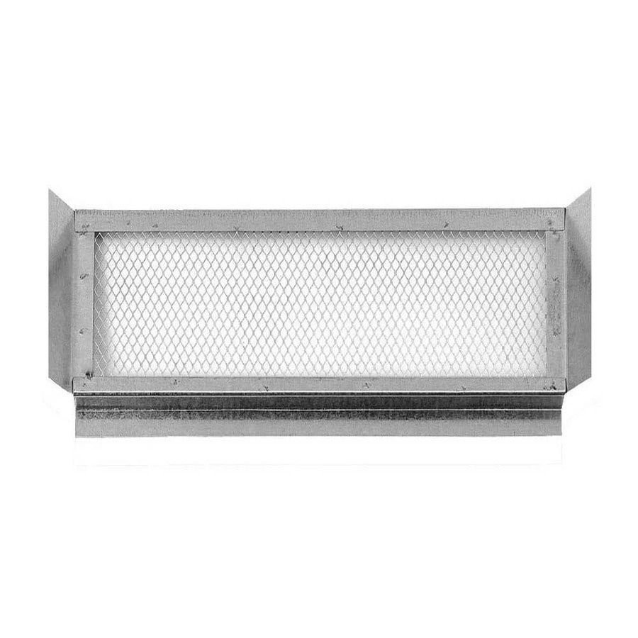 CMI 14.25-in L Silver Galvanized Steel Soffit Vent