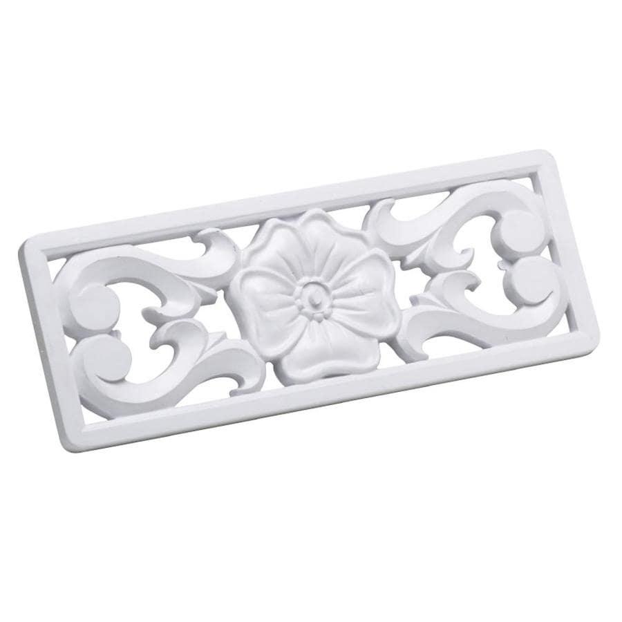 Cmi 5 in x white plastic foundation vent cover at - House foundation vent covers exterior ...