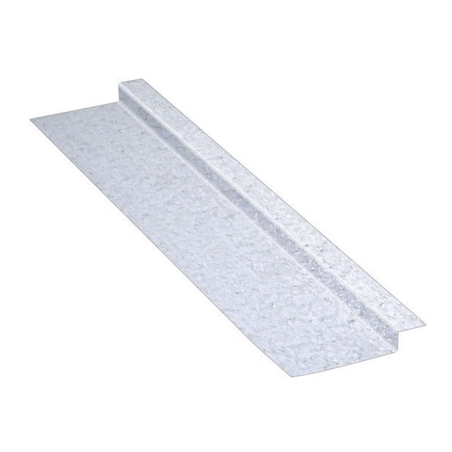 Construction Metals Inc. 2.37-in x 120-in x 1-in Galvanized Steel Z Flashing
