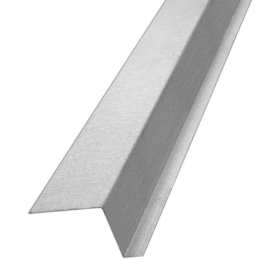 Construction Metals Inc. 2.37-in x 120-in x 1.5-in Galvanized Steel Z Flashing