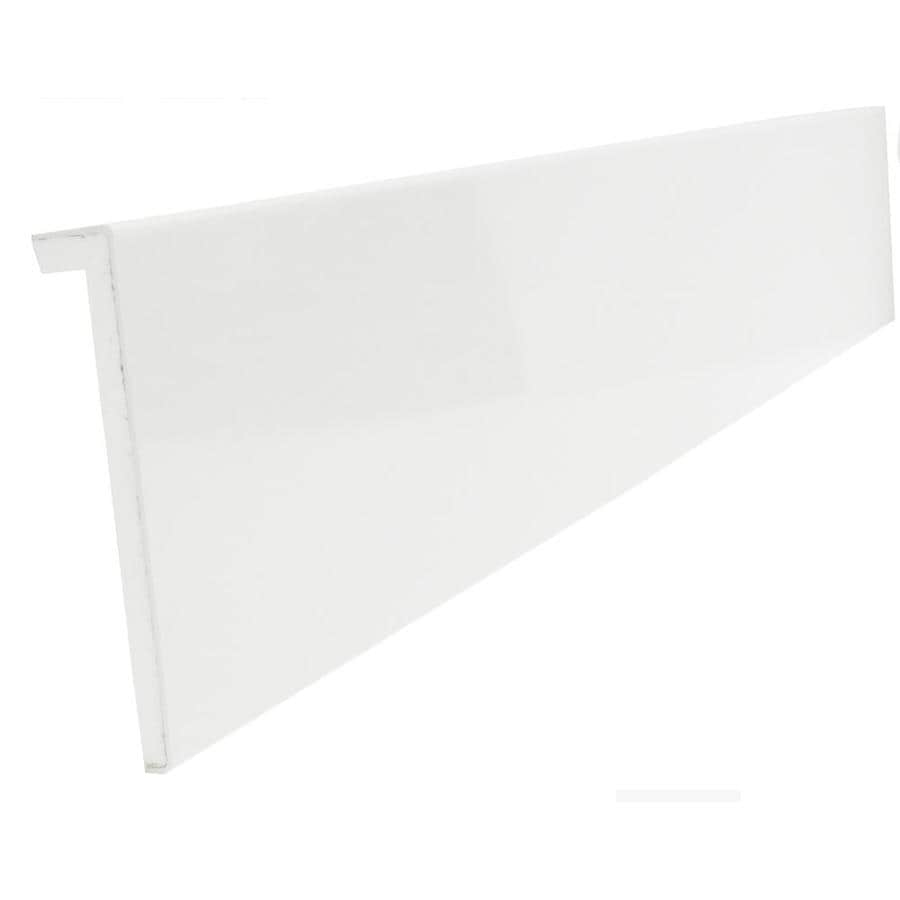 Shop Duraflex 8 5 In X 3 Ft Interior Pvc Sill Window Moulding At