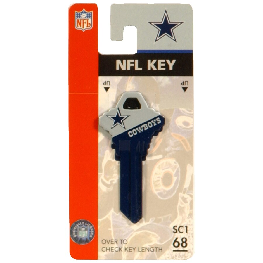 Hillman #68 Dallas Cowboys NFL Wackey Key
