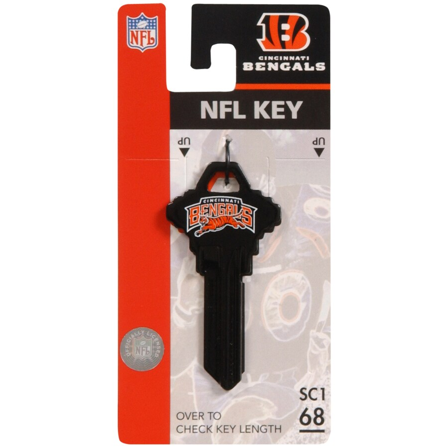 Hillman #68 Cincinnati Bengals NFL Wackey Key