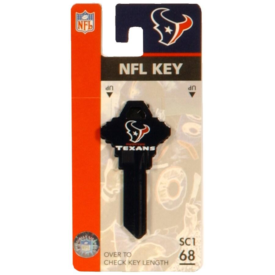Hillman #68 NFL Houston Texans Key Blank