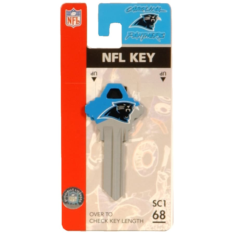 Fanatix #68 NFL Carolina Panthers Key Blank