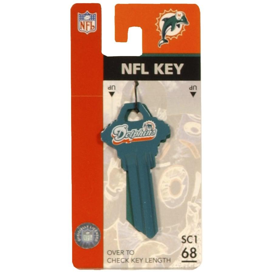 Fanatix #68 NFL Miami Dolphins Key Blank