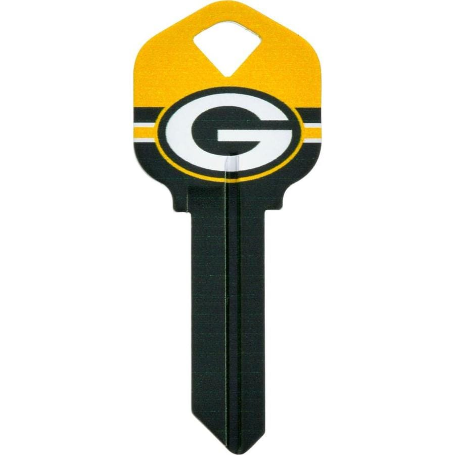 Hillman #66 NFL Green Bay Packers Key Blank