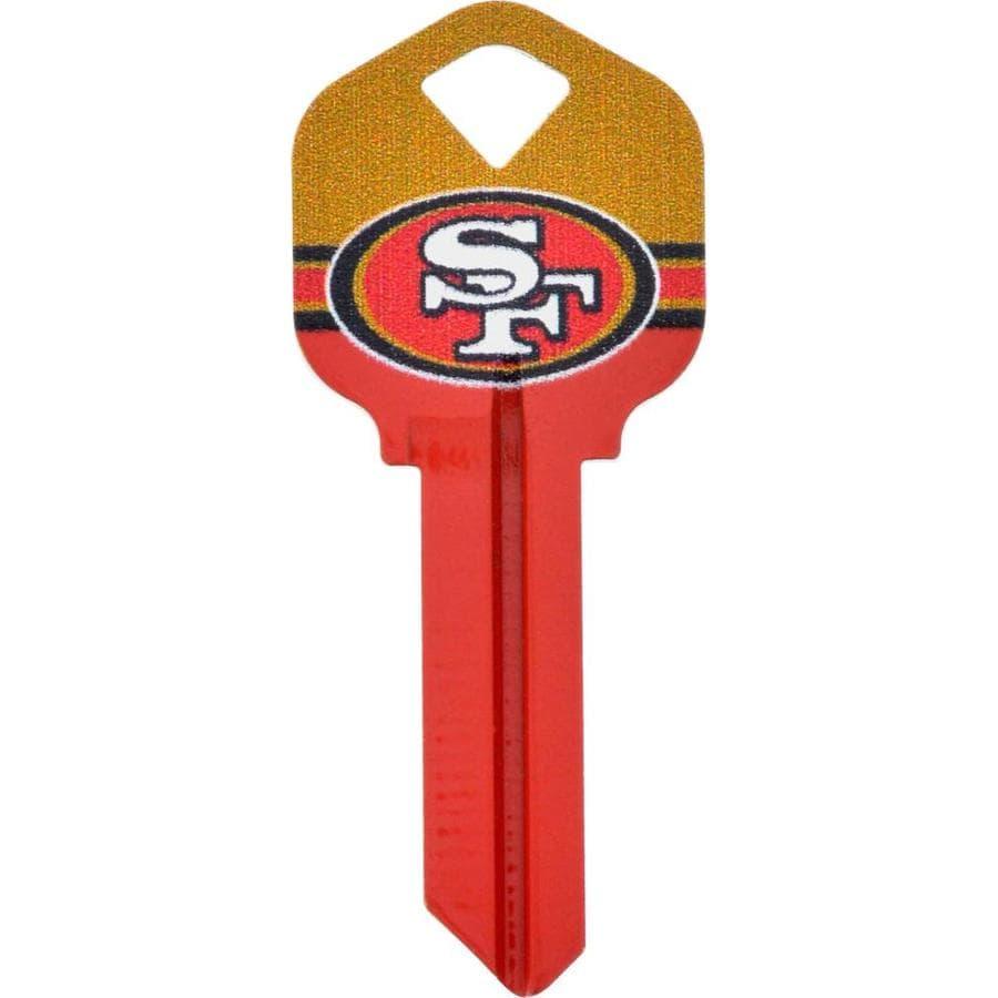 Fanatix #66 NFL San Francisco 49ers Key Blank