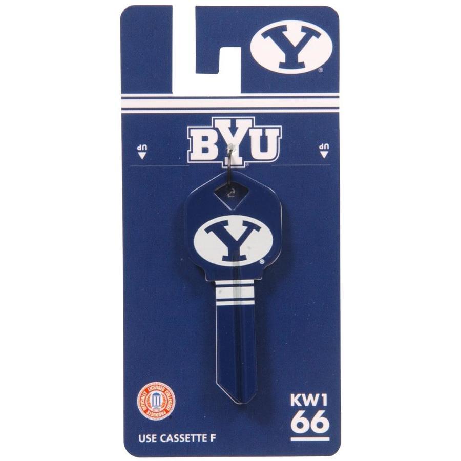 Hillman #66 NCAA BYU Cougars Key Blank